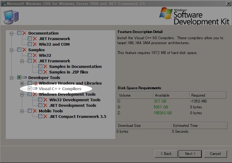 OpenCV2 0のインストール:Windows(windows:32bit, 64bit